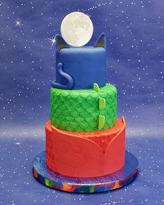 Pj Masks Birthday Cake - CakeCentral.com
