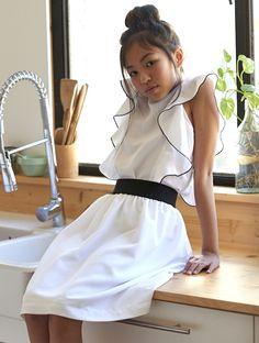 Moodblue fashion for girls SS17. Moda para niñas.