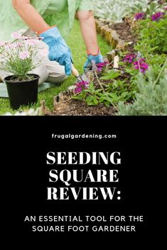 SEEDING SQUARE REVIEW: AN ESSENTIAL TOOL FOR THE SQUARE FOOT GARDENER Free Groceries, Save Money On Groceries, Shopping Coupons, Grocery Coupons, Cold Hard Cash, Square Foot Gardening, Extreme Couponing, Interesting Reads, Seed Starting