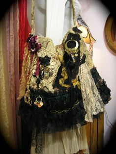 Gypsy Carpet Bag slouchy hobo bag bohemian fabric by GrandmaDede, $155.00