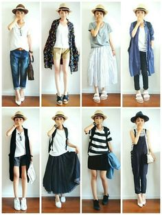 もう迷わない!朝の忙しい時間に素早くコーデを決める方法 - Locari(ロカリ) Japan Fashion, Daily Fashion, Love Fashion, Girl Fashion, Fashion Outfits, Womens Fashion, Fashion Design, Casual Outfits, Summer Outfits