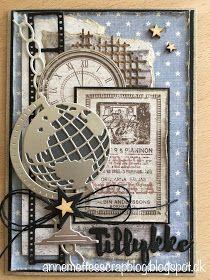 Anne-Mette´s scrapblog: Maskuline kort