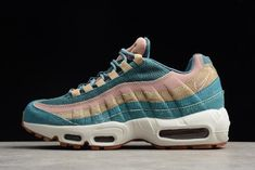 "b020e01d54d Women s Nike Air Max 95 LX ""Smokey Blue"" AA1103-002 Free Shipping"