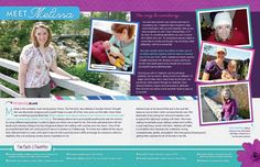 Our Chosen Child adoption profile sample- This profile turned out so playful. We love the colors.