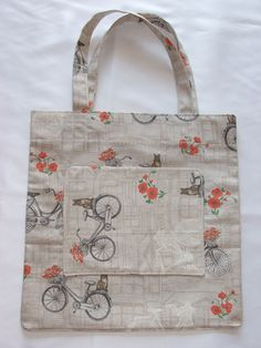 nákupná taška / shopping bag Bicycle, Reusable Tote Bags, Bike, Bicycle Kick, Bicycles