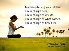 #abrahamhicks #yourself #incharge