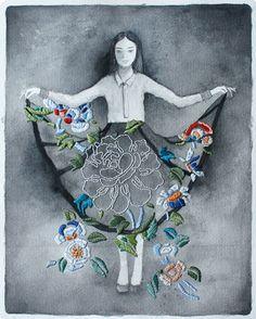 Izziyana Suhaimi – Textile Kunst... via Designchen