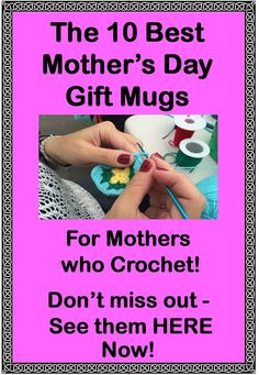 Great Mothers Day Gift for Mother or Grandmothers Funny Mothers Day Gifts, Mother Day Gifts, Gifts In A Mug, Great Gifts, Grandmothers, Knit Crochet, Mugs, Sewing, Knitting