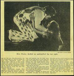 Elvis Presley Newspaper Concert Review 1974 Part 2 | Flickr - Photo Sharing!