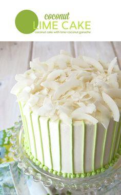 Recipe: Coconut Lime Cake