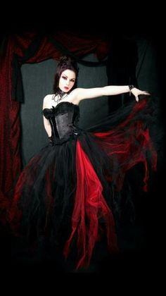 beautiful gothic dress