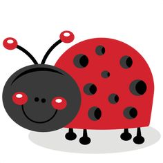 Daily Freebie 4-22-15: Miss Kate cuttables--Cute Ladybug SVG cutting files for cricut silhouette pazzles free svg cuts free svgs cut cute files for scrapbooking