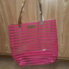 VICTORIA'S SECRET JELLY TOTE BAG New with no tags   SUPER CHIC   NO TRADES   PRICE IS FIRM   No trades.   This is a final sale victorias secret Bags Totes