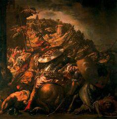 La retirada de los sarracenos (1653) Juan de Valdés Leal. Ayuntamiento de Sevilla.