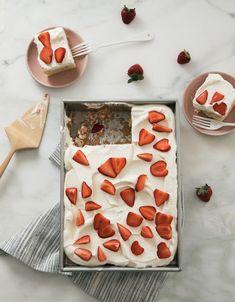 Strawberry Milk Tres Leches – A Cozy Kitchen