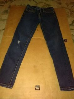 Aeropostale Lola Denim Jeggings Size 0 short Very Nice Skinny