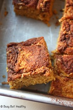 Pumpkin Swirl Bread with Jamie's Whey Isolate - Busy But Healthy