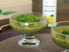 37 Cooks: Parsley Soup with Sciabica's Lemon Extra Virgin Olive Oil