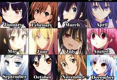 Which are you, I'm October.