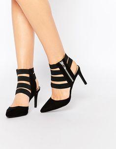 963b9244896 London Rebel Strappy Heeled Shoes at asos.com
