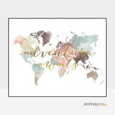 Decorative World Map Poster.219 Best World Map Decor Images In 2019 World Maps Decorating