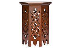 Bertie Hexagonal End Table    $189.00