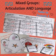 Packet for mixed art