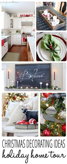 Christmas Decorating Ideas and a Holiday Home Tour by Finding Home Farms