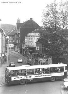 """Bochum Dahlhausen """"City"""" Bus und Bahn 1978"""