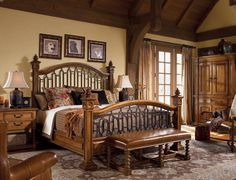 Rustic Bedrooms. Shabby Chic Rustic Bedroom Better Homes And ...
