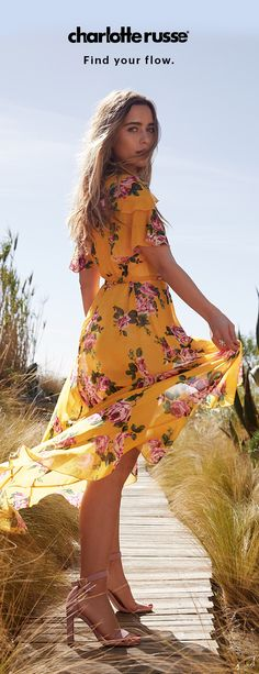 Bloom into Spring's hottest looks with cool, flowy styles perfect for every occasion.
