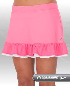 pink tennis skirt - maybe easy to copy