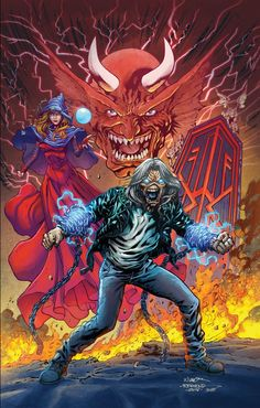 The Heavy Metal booth at SDCC will be showing off the cover to the Iron Maiden: Legacy of the Beast Trade Paperback ahead of its release in October. Heavy Metal Rock, Heavy Metal Music, Heavy Metal Bands, Bruce Dickinson, Woodstock, Hard Rock, Iron Maiden Posters, Iron Maiden Albums, Iron Maiden Band