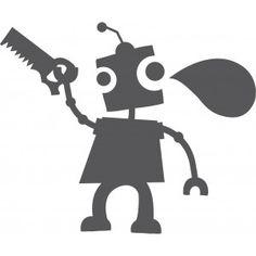 Decoloopio.com – Sticker Ardoise : Robot Outils : Ce sticker ardoise Robot outils est à la fois un jeu et un pense-bête idéal pour la chambre de vos enfants. Ils peuvent jouer ou écrire sur toute la surface du sticker ! Le sticker ardoise se colle sur toutes les surfaces lisses et se décolle facilement sans abîmer les supports. Format : 60 x 49 cm . Idéal pour décorer la chambre de votre enfant – Stickers Robot