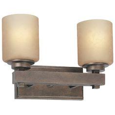 Dolan Designs Lighting Two-Light Bathroom Light | 3112-90 | Destination Lighting
