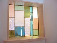 ガラスブロック・ステンドグラス 新築・注文住宅は福岡市西区の馬渡ホームへ Glass Brick, Glass Door, Bathroom Interior Design, Interior Decorating, Window Greenhouse, Bedroom Bed Design, Stained Glass Designs, Architect Design, Best Interior