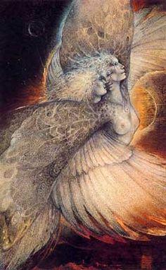 Susan Seddon Boulet - Goddess « Psyche » alias « Journey Home » - 1991