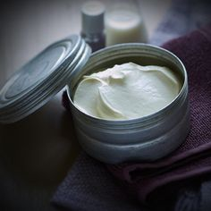 Mend split ends and hydrate your face and body with this do-it-all balm! #DIY #Beauty