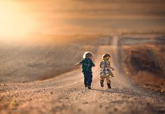 Sun-Kissed Photos Of Kids And Dogs In The American Midwest by Jake Olson