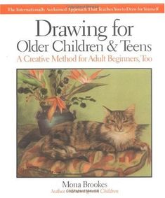 A complete art instruction book for older children, teens and adult beginners. Learn about different drawing styles, the core fundamentals, and how to develop your own personal style.