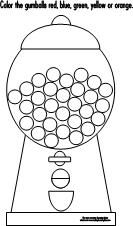 Free Printable Template For Gumball Machine I Am Using