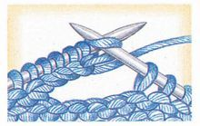 Knitting buttonholes