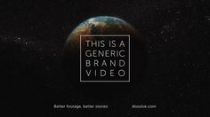 This Is a Generic Brand Video is a generic brand video  The original piece is published on McSweeney