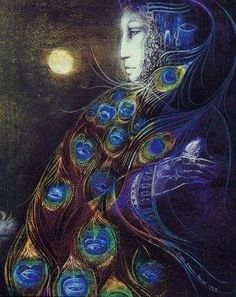 Susan Seddon Boulet - Hera Queen of the gods.  Goddess of marriage and childbirth.