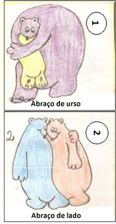 DINÂMICA: ABRAÇOS DE URSO — SÓ ESCOLA Professor, Smurfs, 1, Education, School, Life, Fictional Characters, Kids Activity Ideas, Physical Education Activities