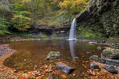 Lady Falls in Brecon Beacons Wales UK - By Adam Burton [OS] [800 x 533]