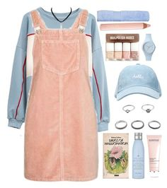 """""""p p p b"""" by credendovides ❤ liked on Polyvore featuring Drybar, Topshop, H&M, Darphin, Ice-Watch, Trish McEvoy and Christy"""