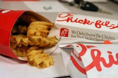 Happy Chick-Fil-A Appreciation Day everyone! I'm definitely going. God's way is better than the world's way (which is a very sick, demented way), and I respect and support Mr. Cathy for saying so!