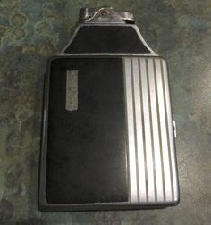 Ronson Mastercase CIgarette Lighter and Case by LeftoverStuff