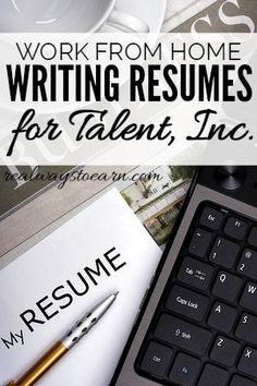 take your resume writing talent to talent inc - Resume Writing Jobs